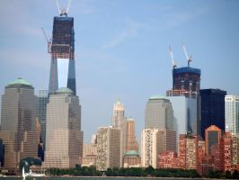 One and Four World Trade Center by PaulRokicki