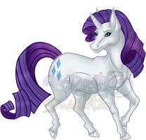 MLP Event - Rarity by QilinDynasty