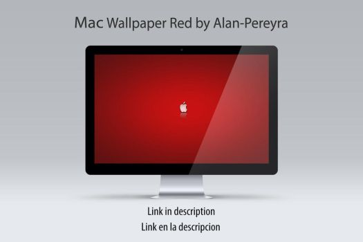 Mac Wallpaper Red by Alan-Pereyra by Alan-Pereyra