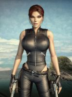 tomb raider underworld lara render by michaelvr4