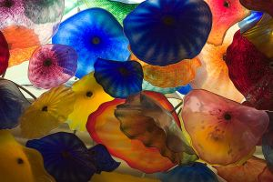 Chihuly's Chandelier I by secondclaw