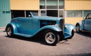 Blue Hot Rod by GaryRoswell007