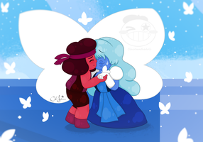 I'm Here... [Steven Universe] by Clairbanthedoll