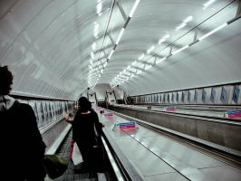 London Underground by keep-smiling-lila
