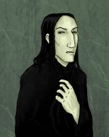 My attempt at Snape by RevisionOfLines
