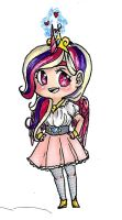 princess cadence sticker by singingcatartist12