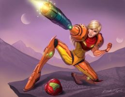 Samus Aran by arm01