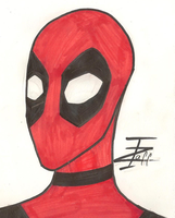 Deadpool by InvaderZaff