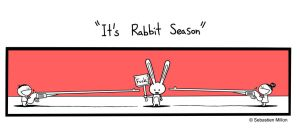 It's Rabbit Season by sebreg