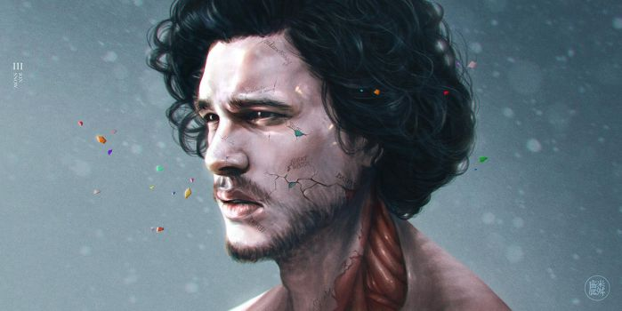 Game Of Thrones - Jon Snow by lunzh