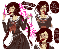Genocider Syo by RAD-SHAD