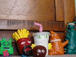 Aqua Teen Hunger Force cast by Whitey594