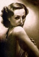 Joan Crawford by Piombo