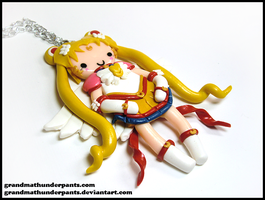 Eternal Sailor Moon Necklace by GrandmaThunderpants