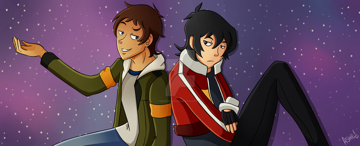 Lance and Keith by sweets-nokami