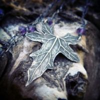 Bryonia, Bryony - Elven Leaf Necklace~ by QuintessentialArts