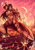 CM :  Diana the valkyrie of fire by kachima