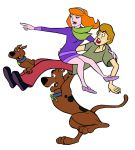 Scooby Scrappy Shaggy and Daphne by Granamir30