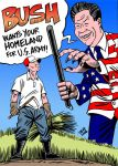 Bush wants their homeland by Latuff2