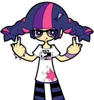 Woodstock Hipster Twilight Sparkle by nekozneko