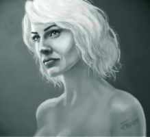 Tricia Helfer - Caprica, Final by Axeface