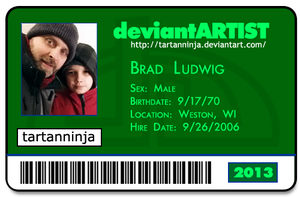 2013 Deviant ID by tartanninja