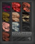 Sculptris Materialz 1 by marcnail