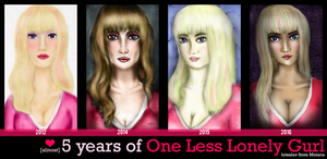 Almost 5 Years of One Less Lonely Gurl by el-Jimmeister
