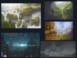 Speed paintings 3 by JoshHutchinson