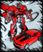 -Human Alliance Cliffjumper- by Rumblebee88