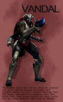 Destiny - The Vandal by HannahRooth