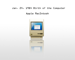 Apple Macintosh Wallpaper by Mem0rex
