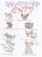 warrior cats by warriorcatliv