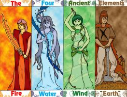 Four Elements by kikoyujin