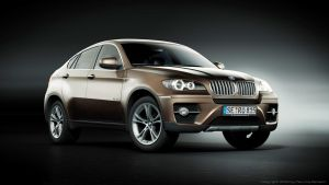 BMW X6 Chocolate Studio Shot by MUCK-ONE