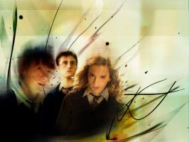 HP Trio Wallpaper by BreAnn