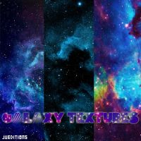 Galaxy Textures by JuEditions