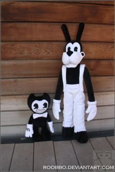 Bendy and the Ink Machine - Plush by roobbo