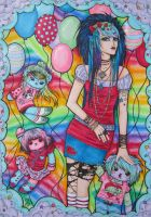 Rainbowgirl by Louyse