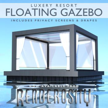 Promo Floating Gazebo by SinAWiL