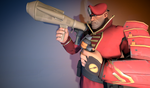 [SFM]The Lieutenant by OkamiArtist