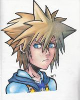 KH2 - Sora by iacomary97
