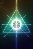 Triforce of Light by KainApophysis