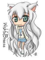 Chibi Commision For WishfulBreeze by Spork-a-licious