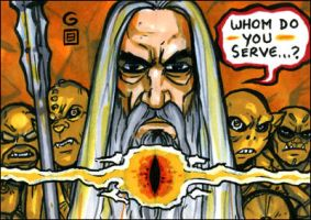 Saruman two-carder by grantgoboom