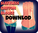 MMD RxNxD SleeveLess Chiffon Blouse DOWNLOAD by RinXNeruXD