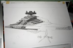 Star Destroyer WIP IV by Angelstorm-82