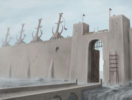 Deap Gate - Early concept by VonStreff