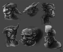 sketches by mindschnapps