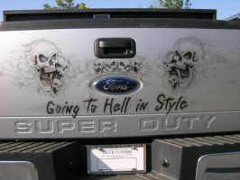hell bound tail gate by Supertruck